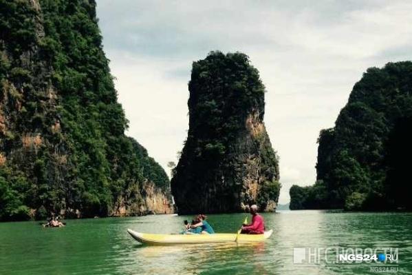 Девушка отдыхала в Таиланде с мужем