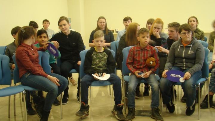 Как стать связистом: воспитанники детских домов Красноярска побывали на экскурсии в «МегаФоне»