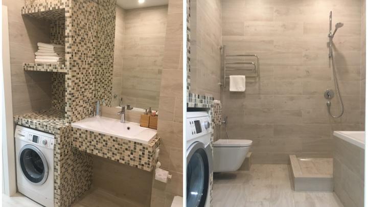 Современный минимализм: ванная, где все продумано до мелочей
