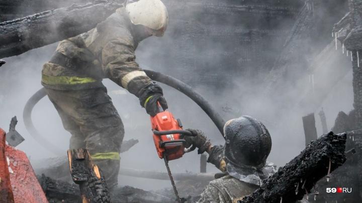 «Работники получают 14 тысяч рублей»: в Прикамье пожарные пожаловались губернатору на зарплаты