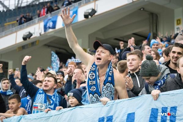 Волгоградские болельщики занимают пальму первенства по посещаемости стадионов
