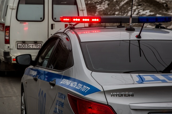 ДТП случилось на Ордынском шоссе