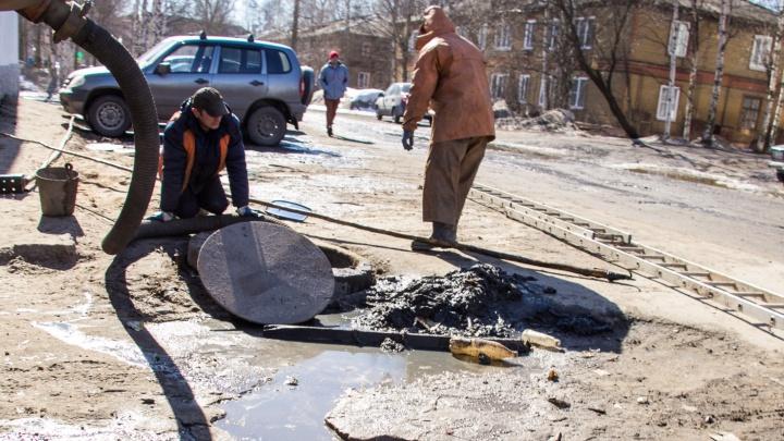 Кемский без света, Новгородский без воды: где еще в Архангельске ремонтируют коммунальные сети