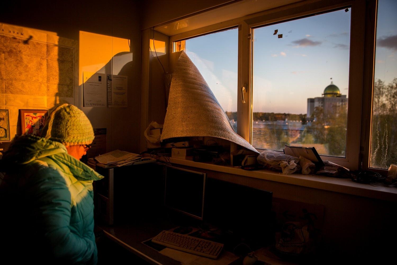 Нестеренко в обсерватории