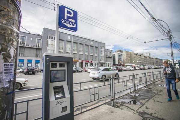 В скором времени в Новосибирске появится 431 платное парковочное место
