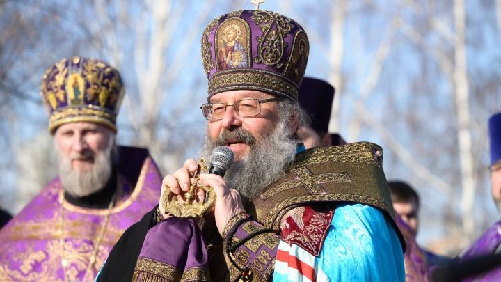 В епархии назвали новую дату молебна на месте строительства собора Святой Екатерины