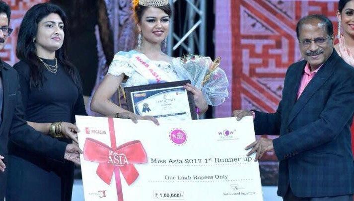 Девушка из Башкирии стала первой вице-мисс «Азия-2017»