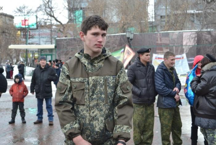 Георгий Попов — студент первого курса Тогучинского техникума лесного хозяйства