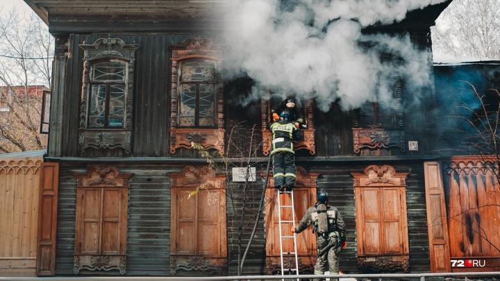 Из-за чего горят памятники архитектуры в Тюмени? Хронология пожаров, уничтоживших столетнюю историю