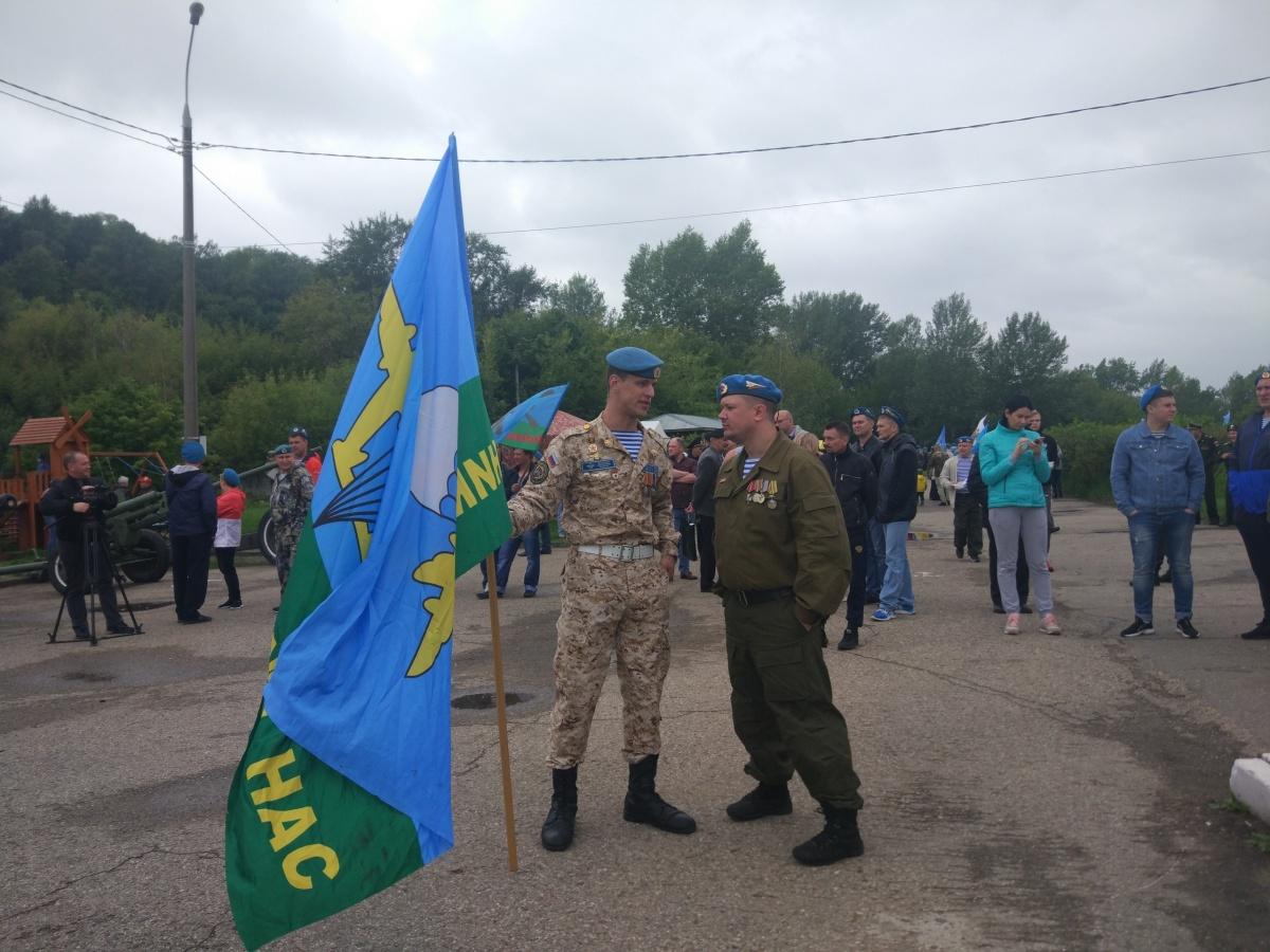 Десантники уважают своё братство