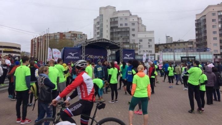 Для бегунов «Майской грозы» на два часа перекроют центр Екатеринбурга