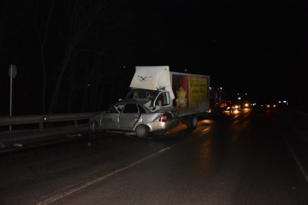 Авария произошла на трассе Москва — Астрахань