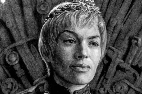 Лина Хиди в образе героини «Игры престолов» Серсеи Ланнистер