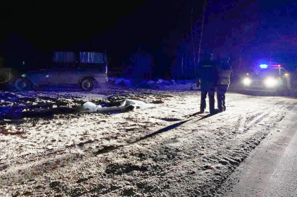 Женщина умерла на месте аварии