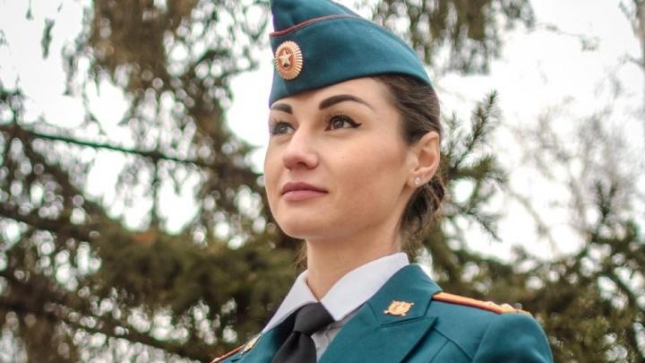 Девушка из Красноярска борется за звание самой красивой сотрудницы Росгвардии