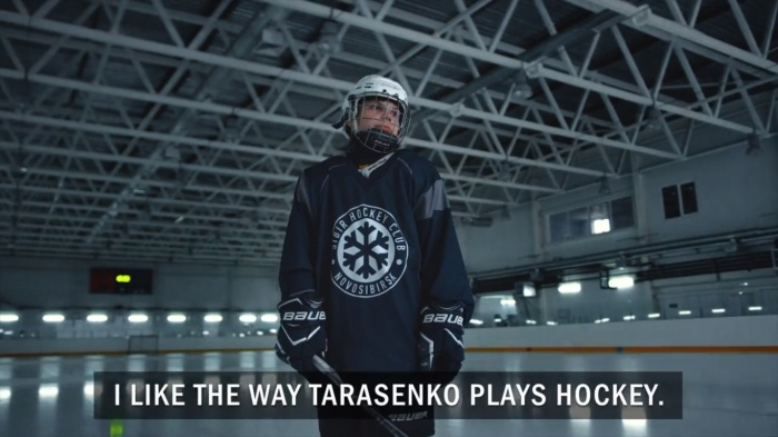 В проморолике снялись хоккеисты «Сибири-2003»