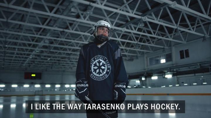 Хоккеисты сняли трогательный ролик в поддержку чемпионата в Новосибирске