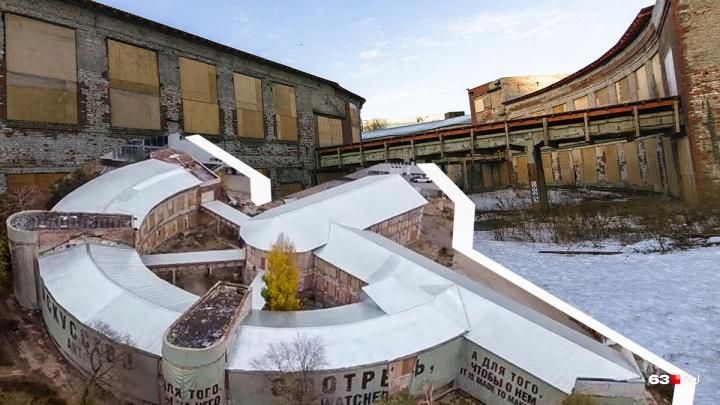 Знаменитые развалины: гуляем по зданию Фабрики-кухни