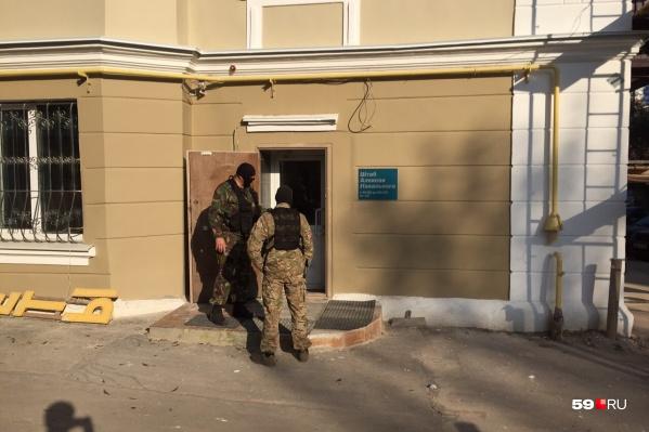 Обыск в штабе Навального