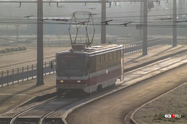 Строительство поворота позволит запустить к стадиону еще 5 трамвайных маршрутов