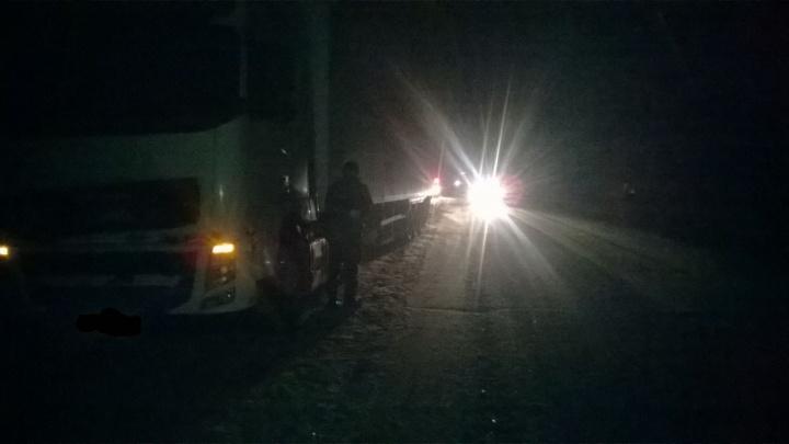 Водитель грузовика сбил женщину в Новосибирской области