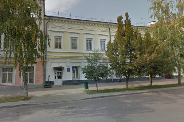 Действующее здание техникума на Молодогвардейской отремонтируют