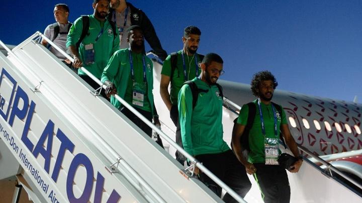 В двигатель попала птица: подробности происшествия с самолетом сборной Саудовской Аравии