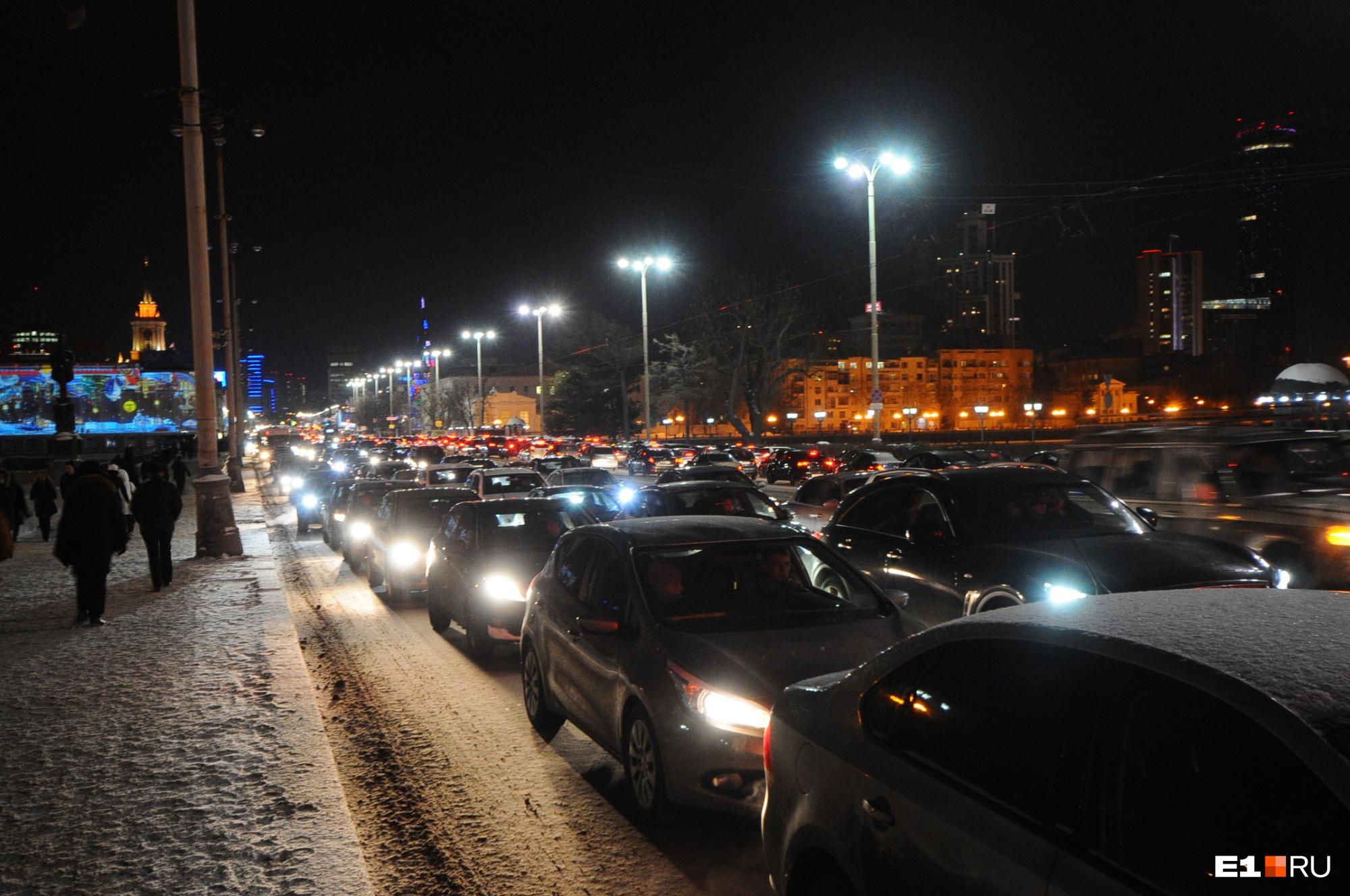 великолепно фото пробки в екатеринбурге сейчас всего
