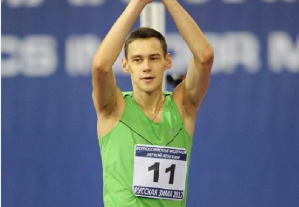 «Бирский кузнечик» Даниил Лысенко победил в прыжках в высоту