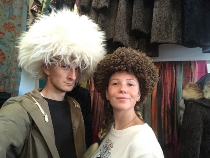 Илья и Даша в Ташкенте