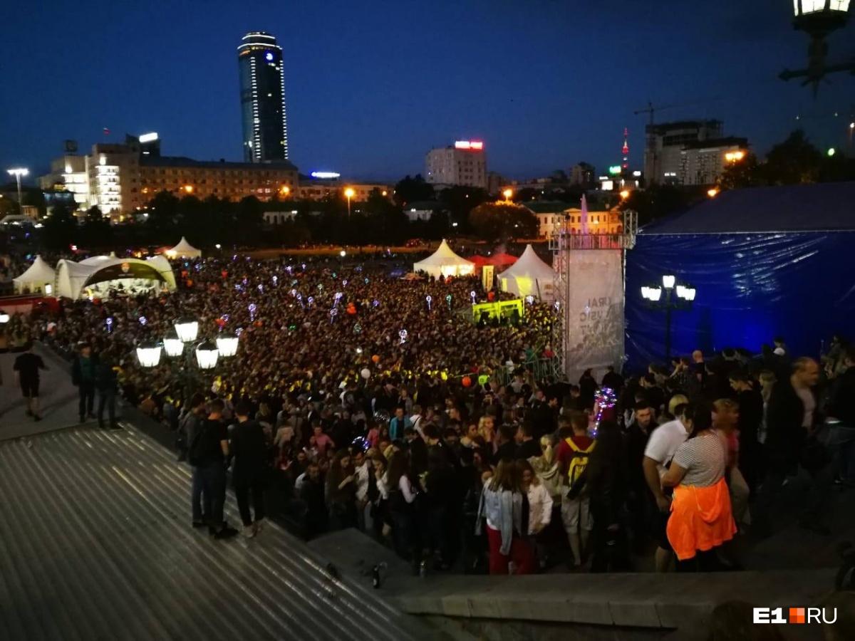 Вмэрии Екатеринбурга сделали выводы после Ural Music Night