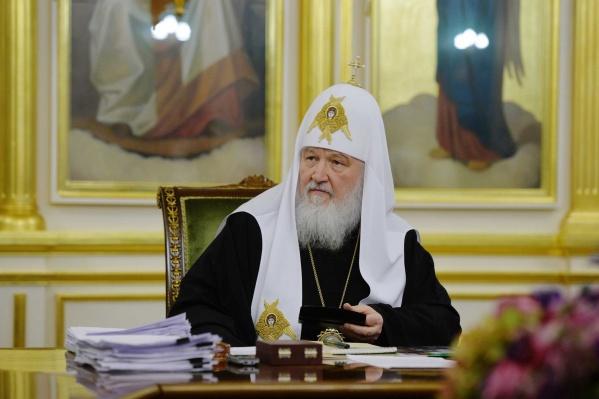 Патриарх Кирилл не планирует принимать в Екатеринбурге экстренные решения