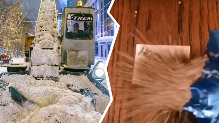 По соцсетям разлетается очень смешное видео про бога, снег, гречку и Новосибирск — показываем его
