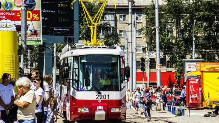 До «Чистой Слободы» пустили новый белорусский трамвай