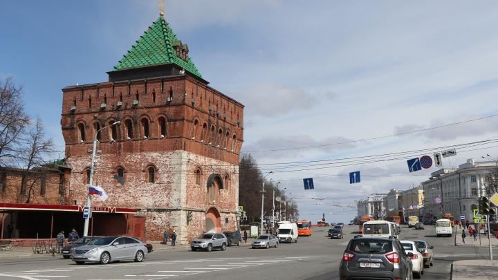В День народного единства в центре Нижнего Новгорода перекроют движение