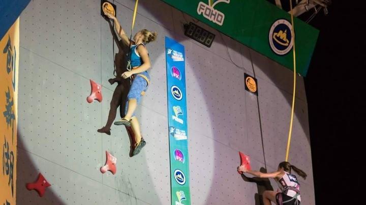 Двое екатеринбуржцев завоевали медали на первенстве Европы по скалолазанию