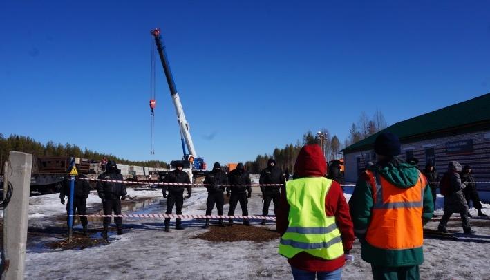Управление Росводресурсов подтвердило, что захоронение отходов на станции Шиес отравит северные реки