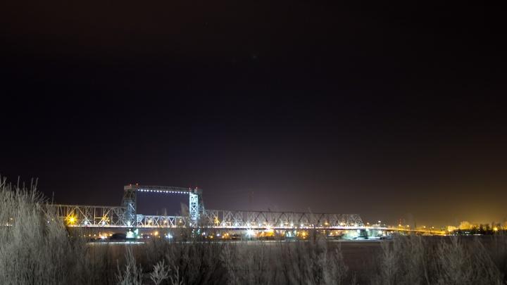 Вечером на северодвинском мосту начнут ямочный ремонт