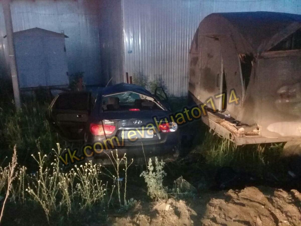ВДТП под Челябинском погибла 28-летняя пассажирка Хёндай