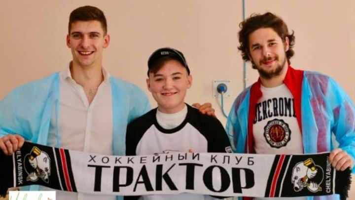 Хотели вручить клюшку на матче: на Южном Урале простятся с юным фанатом«Трактора»