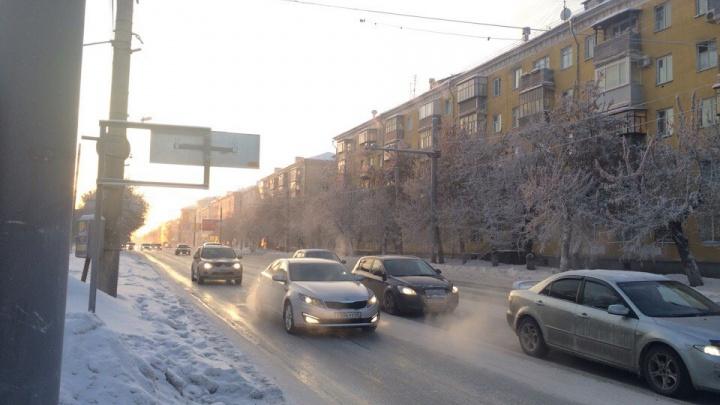Госавтоинспекция Кургана просит водителей отказаться от поездок на машине в период морозов