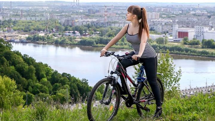Новый веломаршрут соединил две набережные в Нижнем Новгороде