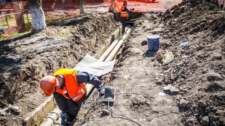 В Челябинске решили вопрос с бесконечными раскопками на улицах