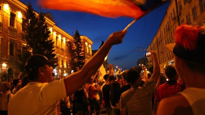 Видели гол, гуляли всю ночь: как в Самаре отмечали победу сборной России