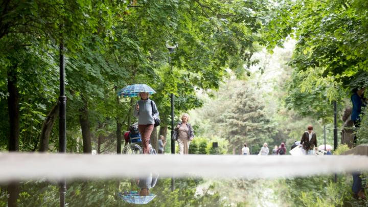 Зонты наготове: какая погода будет на выходных в Ростове