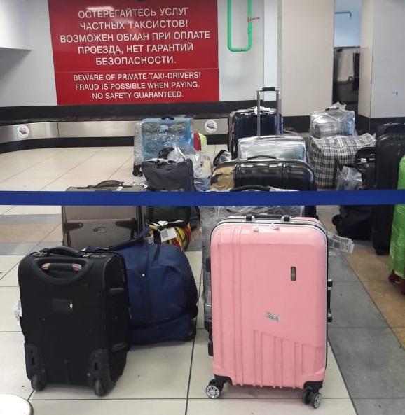 В Толмачёво пообещали прокомментировать ситуацию с багажом позже