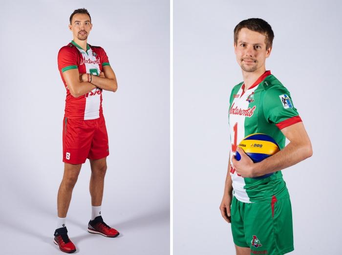 Сергей Савин играет в «Локомотиве» под номером 8, а Роман Мартынюк —под номером 1