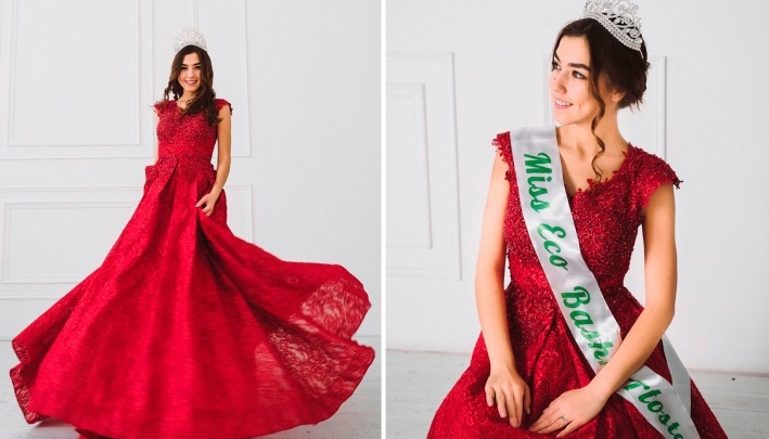 Красавица из Уфы выиграла номинацию Miss Eco TalentInternational в Египте