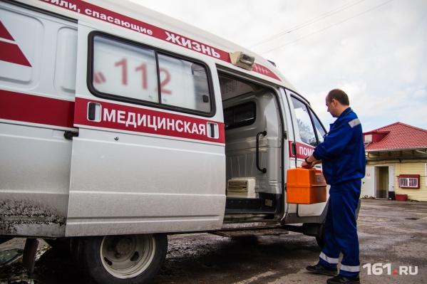 На скорой помощи раненых отвезли в ЦГБ и горбольницу № 20
