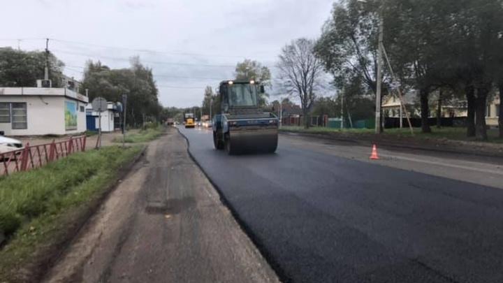 Попытаемся успеть: назвали дату, когда должны закончить ремонт дорог Ярославля в этом году